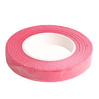 Розовая флористическая тейп-лента 12 мм 1 шт, фото 1
