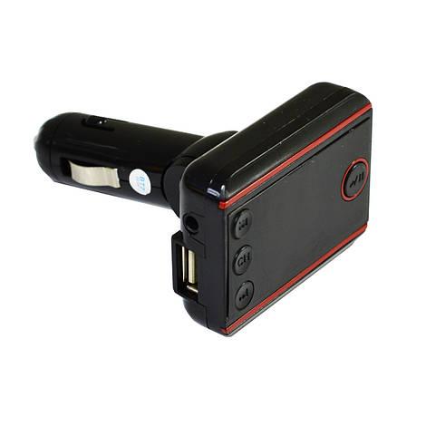Modulator FM I20 Bluetooth black Red