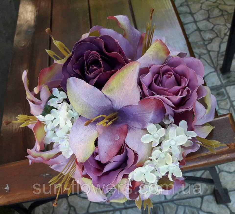 Букет -дублер(Свадебный,искусственный)