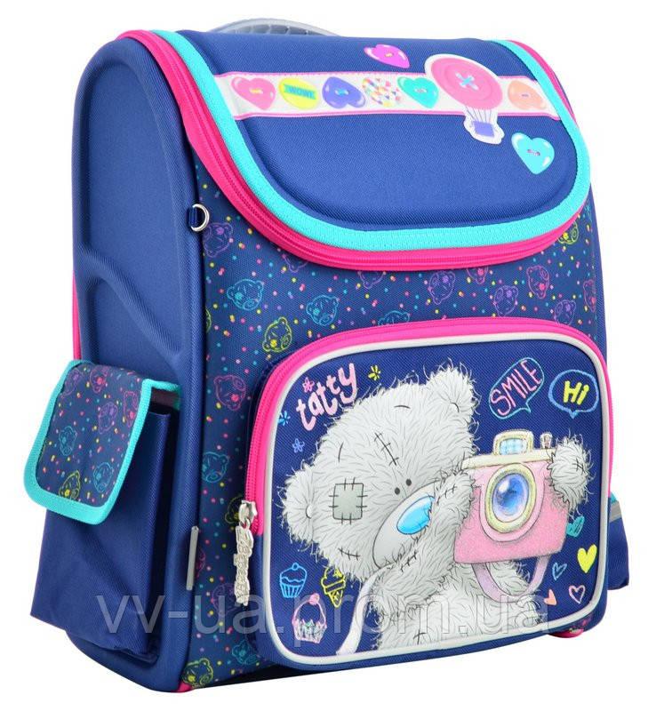 Рюкзак школьный каркасный ортопедический Yes H-17 MTY, для девочек (555096)