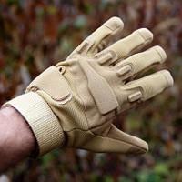 Тактические перчатки дышащие с защитными вставками BlackHawk, фото 1