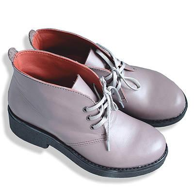 Ботинки из натуральной кожи ручной работы
