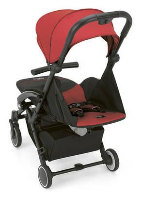 Прогулочная коляска CUBO NEW, красная, фото 2