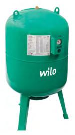 Расширительные мембранные баки Wilo-U,  WILO (Германия)