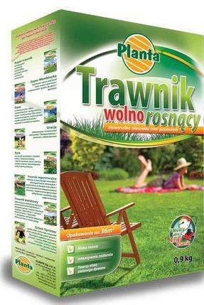Семена газонной травы Медленный Рост Planta 0.9кг, фото 2