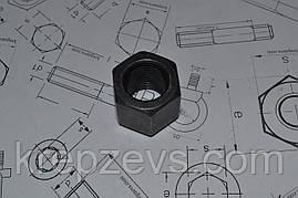 Гайка высокая М8 шестигранная ГОСТ 15523, DIN 6330
