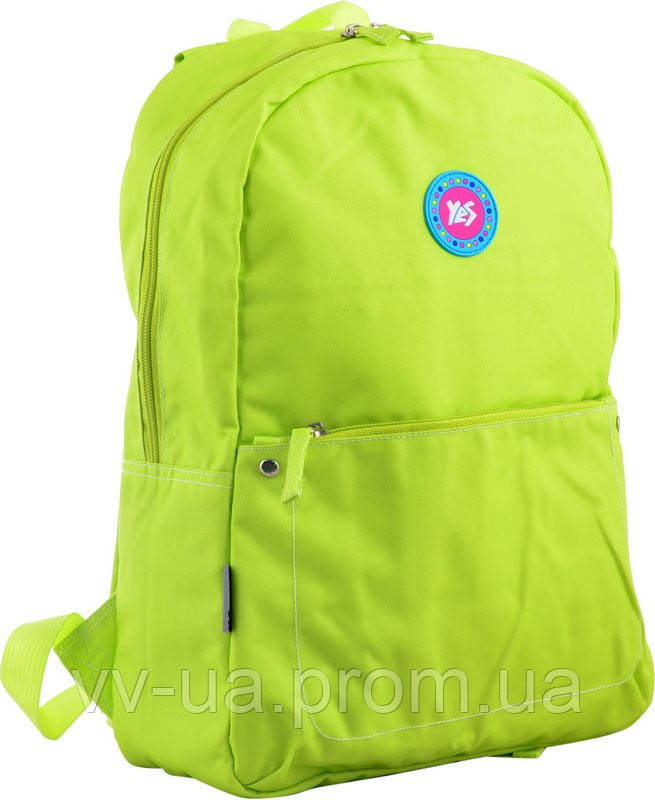 Рюкзак молодежный Yes ST-21 Green apple, для девочек (555528)