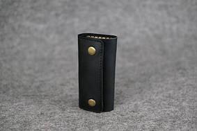 Кожаная ключница |40202| Черный