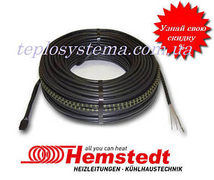 Двухжильный нагревательный кабель Hemstedt BR-IM – 1000 Вт (5,8 м2) Германия, фото 2