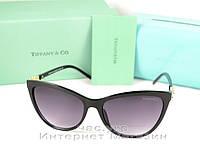 Женские солнцезащитные очки Tiffany & Co эффектная модель 2019 года Тиффани качественная реплика
