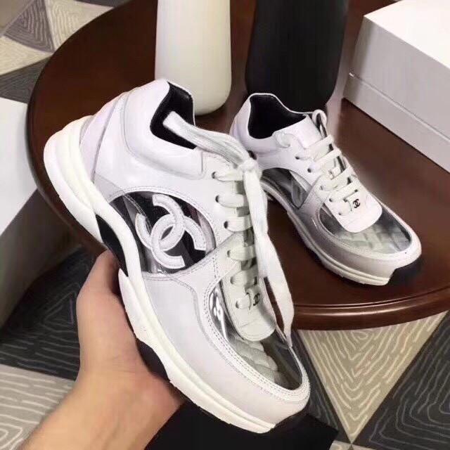 Кроссовки Chanel с силиконовыми вставками. Новинка 2018! - Интернет-магазин  Krutella в Одессе 99b206ceff8