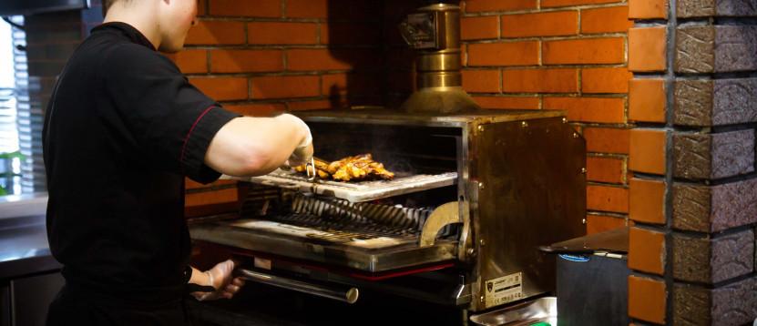 Хоспер - печь на древесном угле, гриль, мангал ПДУ 900