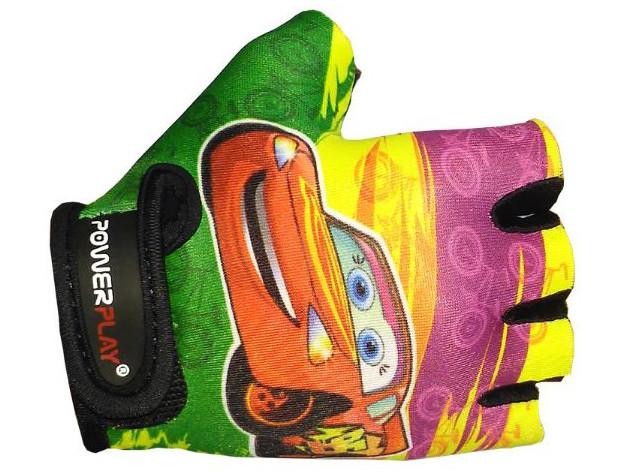 Детские велоперчатки PowerPlay Тачки