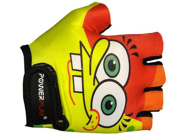 Детские велоперчатки PowerPlay Губка Боб