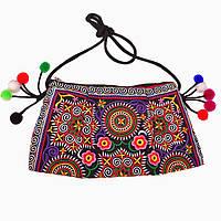 Женская сумка вышитая бохо стиль