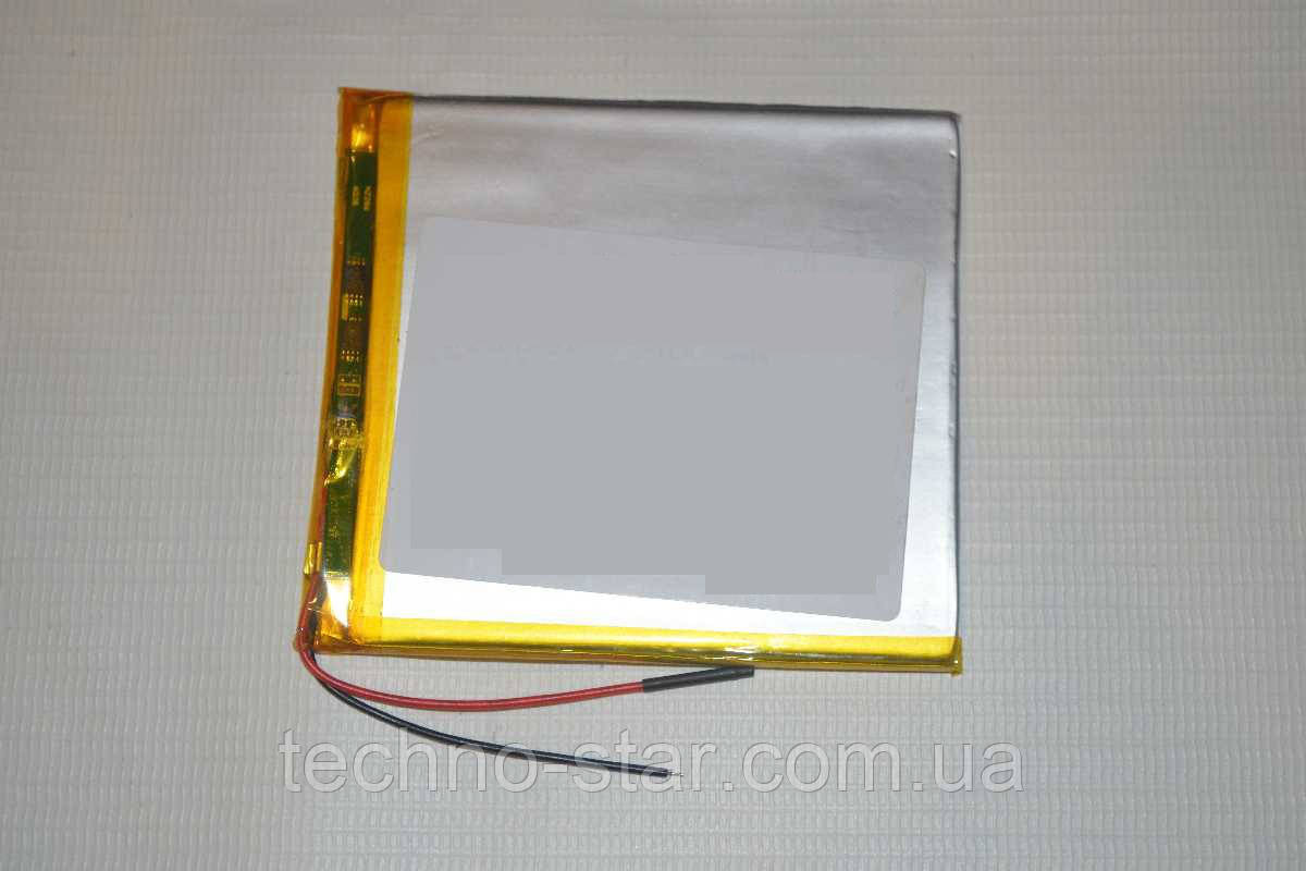 Универсальный аккумулятор (АКБ, батарея) 3.7V 3500mAh (3.4*80*108mm)