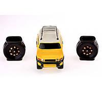 Подарочный набор авто 17 см Toyota FJ Cruiser, 3 предмета