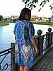 """Летнее платье большого размера """"Лисси"""", фото 4"""