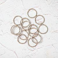 Кольца соединительные KL25-1 (25 мм), цвет никель