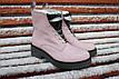 Зимние женские ботинки ручной работы с серебром, фото 3