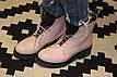 Зимние женские ботинки ручной работы с серебром, фото 5