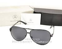 Мужские солнцезащитные очки Mercedes-Benz Polarized Авиатор стильная модель всех сезонов качественная  реплика