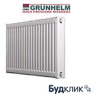 Радиатор Стальной Grunhelm Бок.Подкл. 22Тип 500*500Мм