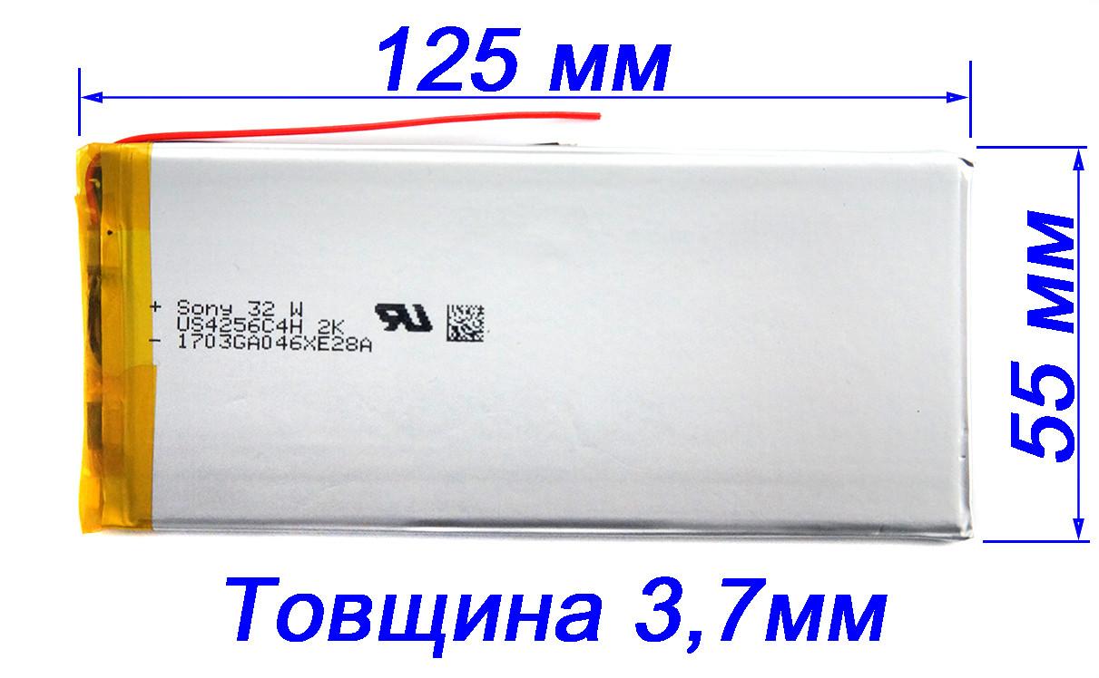 Аккумулятор 3800mAh 3.7v 4055125 для планшетов