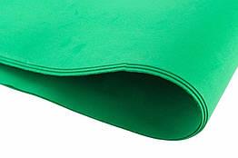 Фоамиран листовой  50 х 50 см., зеленый