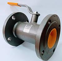 Кран кульовий LD фланцевий стандартнопрохідний Ду 80