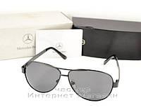 Мужские солнцезащитные очки Mercedes-Benz Polarized Антибликовое покрытие Aviator качественная  реплика