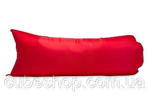 Надувной шезлонг (ламзак) Light (красный)