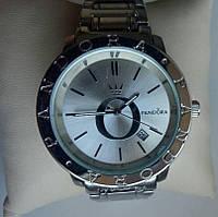 Женские наручные часы Pandora (Пандора), серебристый корпус и циферблат ecb7ef40111