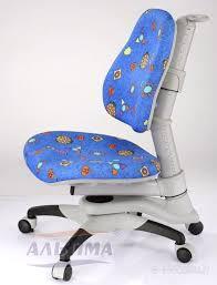 Детское кресло «Оксфорд» KY-618ВL, оббивка синяя с жуками