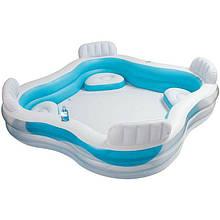 Семейный надувной бассейн Intex 229х229х66 см  (56475)