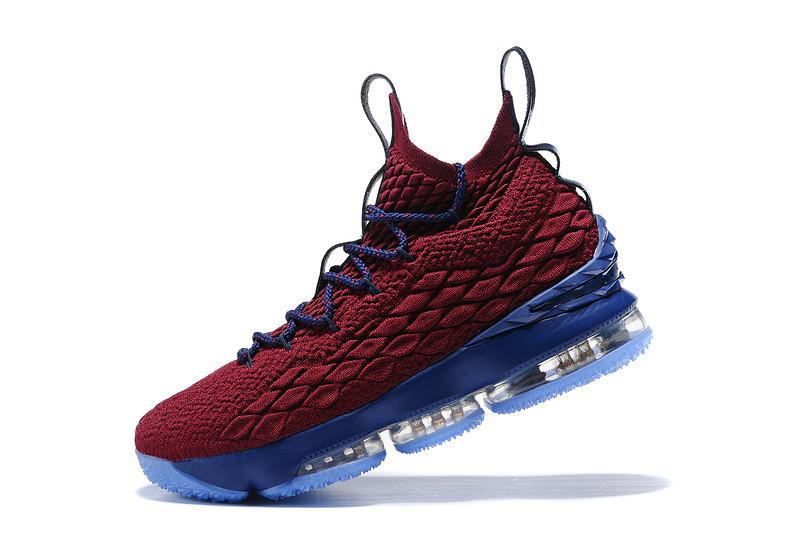 2cd02012 Кроссовки мужские Nike Lebron 15 / NR-LBM-196 (Реплика): продажа ...