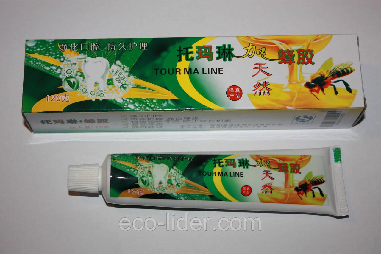 Турмалиновая зубная паста с прополисом 120 г.