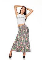 Летняя модная женская юбка в пол. Ю093, фото 1