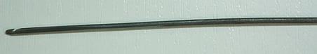 Крючек прошивной (для прошивки подошвы обуви)  ВЮ 1,0 мм. - 2,0 мм., фото 2