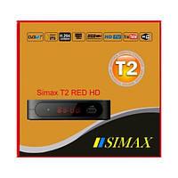 Цифровой эфирный DVB-T2 ресивер SIMAX RED HD