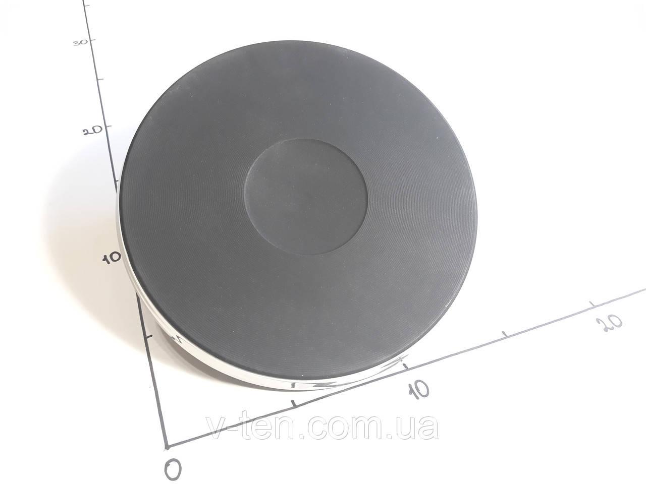 Электроконфорка Ø145/1000w (с двумя выводами для подключения)