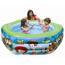Детский надувной бассейн Intex История игрушек 191x178х61 cм (57490)