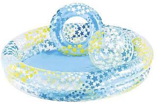 Детский надувной бассейн Intex 122x25 cм  (59460)