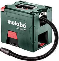 Пылесос аккумуляторный Metabo AS 18 L PC (602021850)