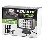 BOL1503F Доп LED фара BELAUTO 3300Лм (розсіюючий), фото 3
