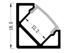 схема угловой профиль для ленты
