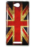 Чехол для Sony Xperia C s39h c2305 Британский флаг