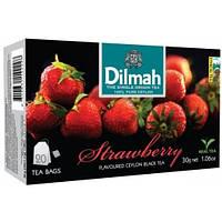 Чай Черный Клубника Dilmah 20 пак