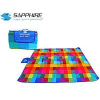 Коврик-плед для пикника 200х200 см Sapphire О