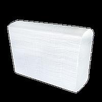 Бумажные целюлозные полотенца Z-образные 160шт белые